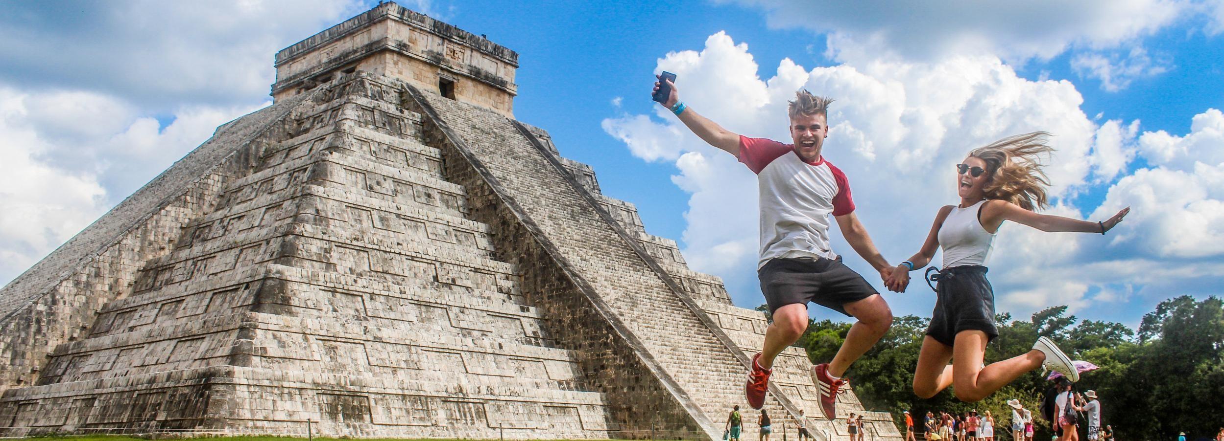 Chichen Itza Premium-Tour mit Abholung in Cancun