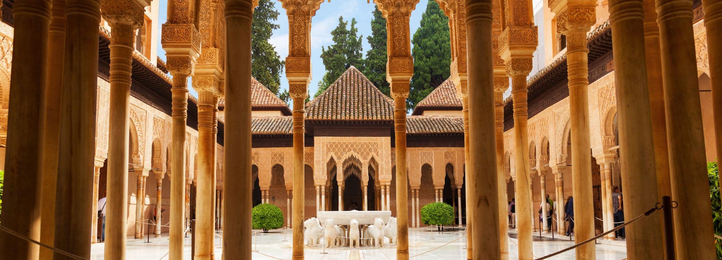 Billet coupe-file: Alhambra, palais Nasrides et Généralife