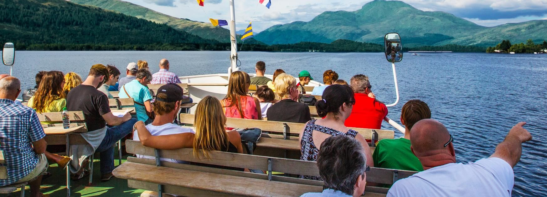 Loch Lomond: 1-stündige Bootsfahrt