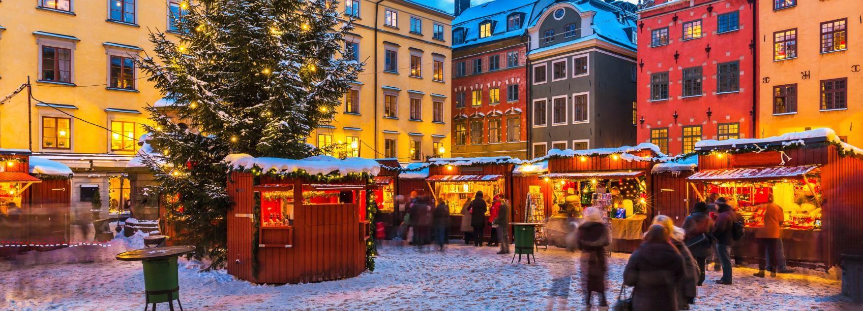 Stoccolma: tour a piedi privato nello spirito natalizio