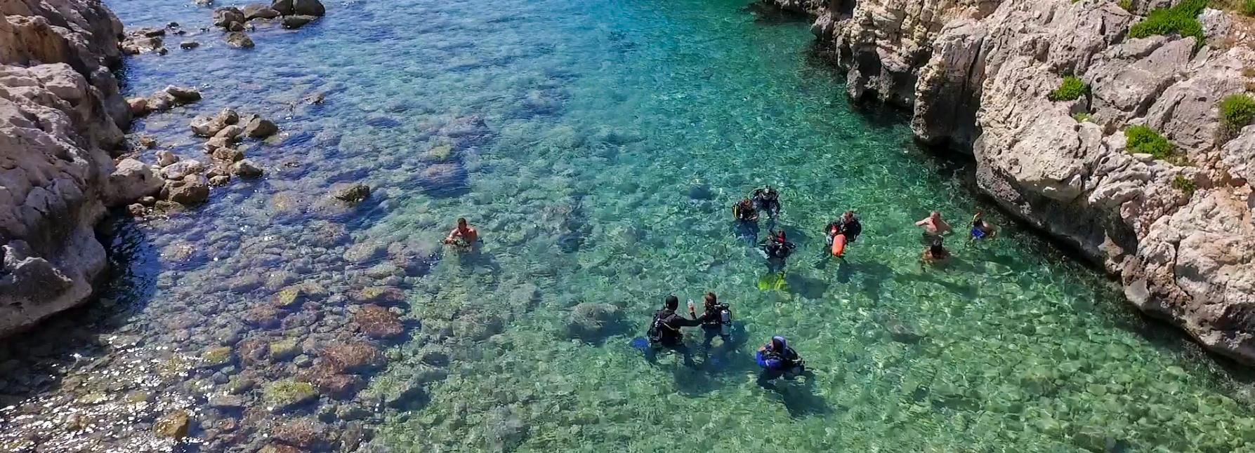 From Chania: Scuba Diving for Beginners