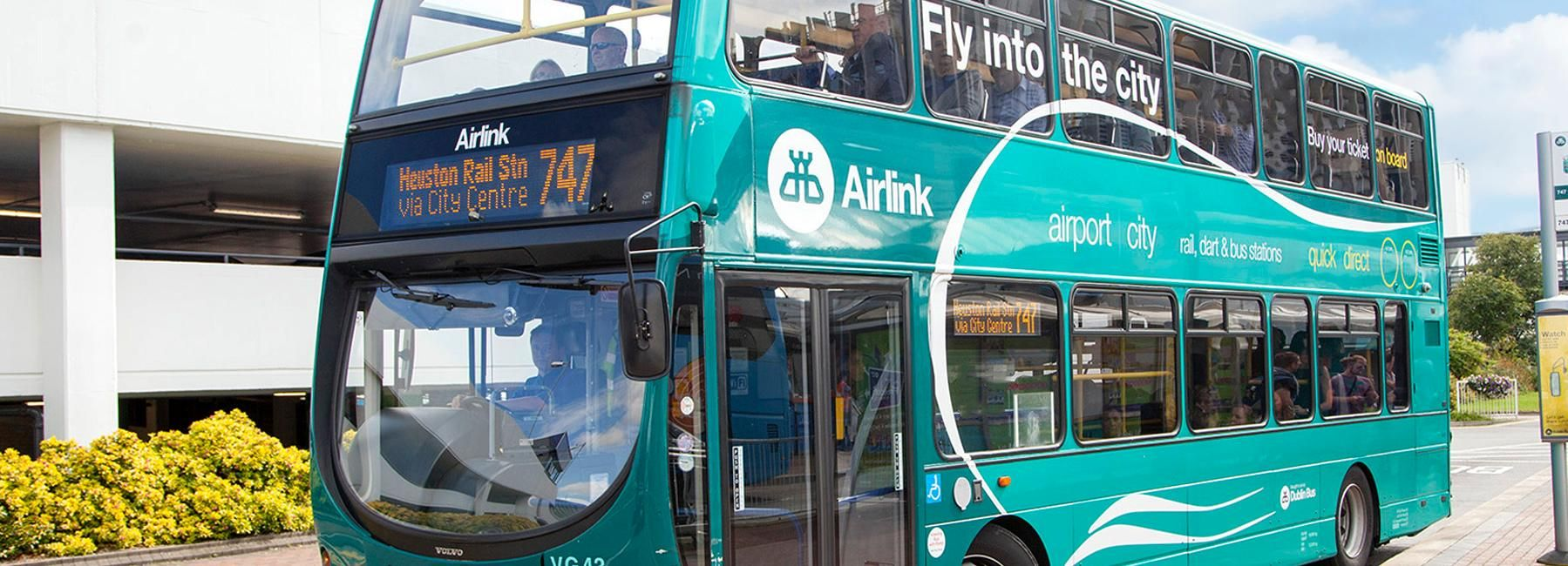 Dublino: transfer sul bus Airport Express Airlink
