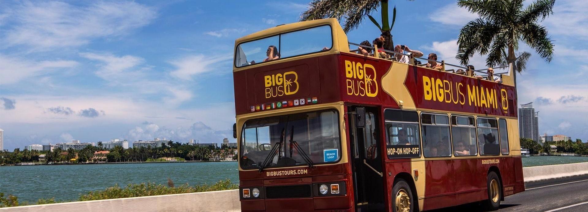 Miami: recorrido turístico Big Bus en autobús descapotable