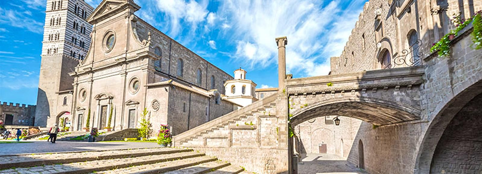 Viterbo Guided Tour with Cathedral & Priori Palace Entrance