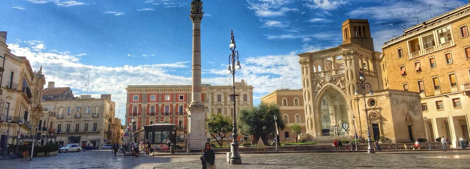 Lecce Guided Walking Tour at Sunset