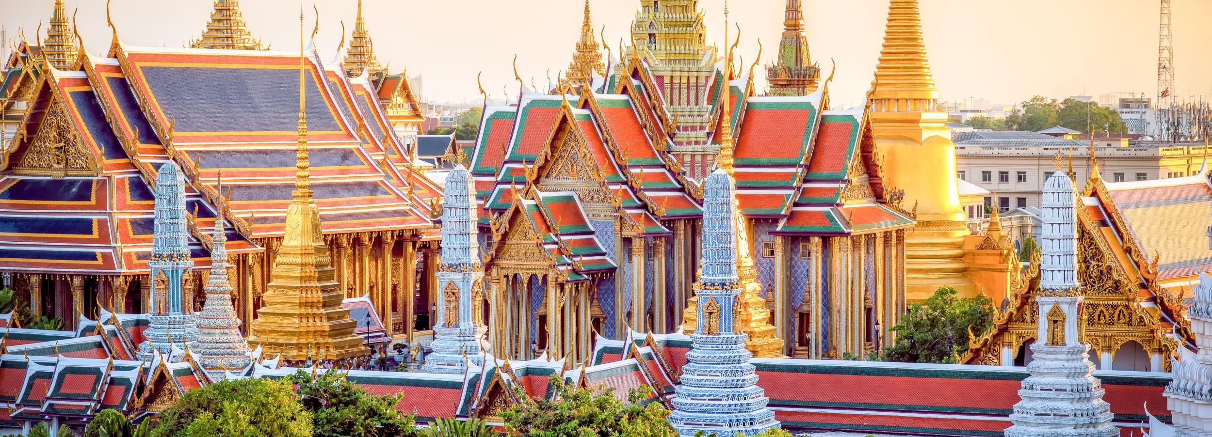 Großer Palast, Wat Pho & Wat Arun: Tempelrundgang