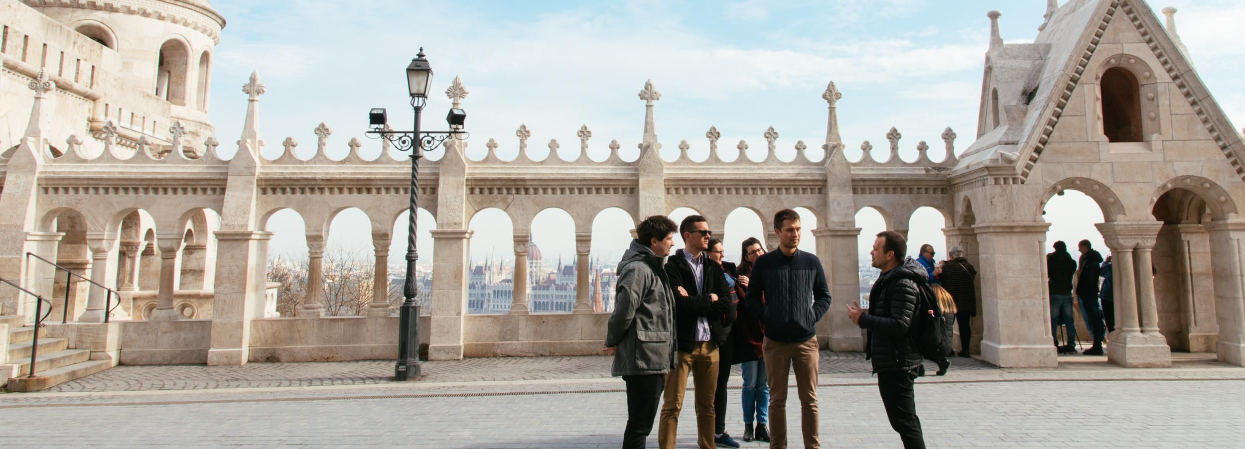 Budapest: Rundgang Burgpalast mit einem Historiker