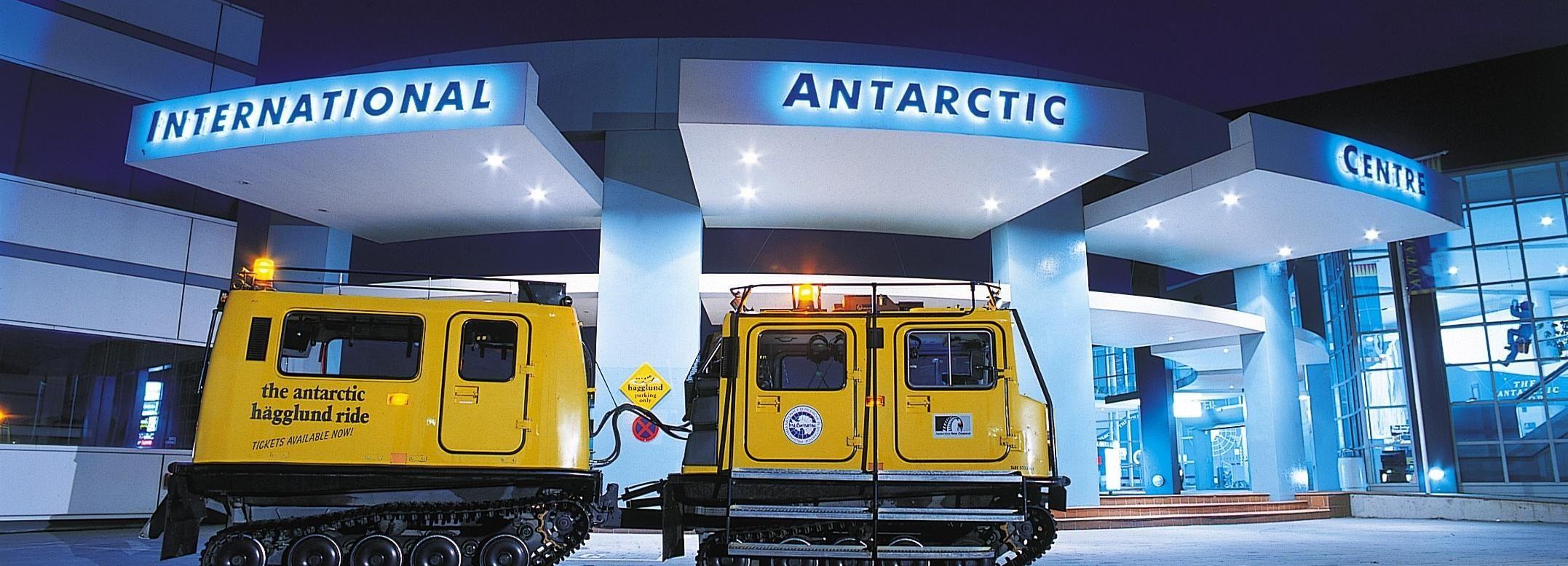 City Sightseeing Tour met Internationaal Antarctisch Centrum