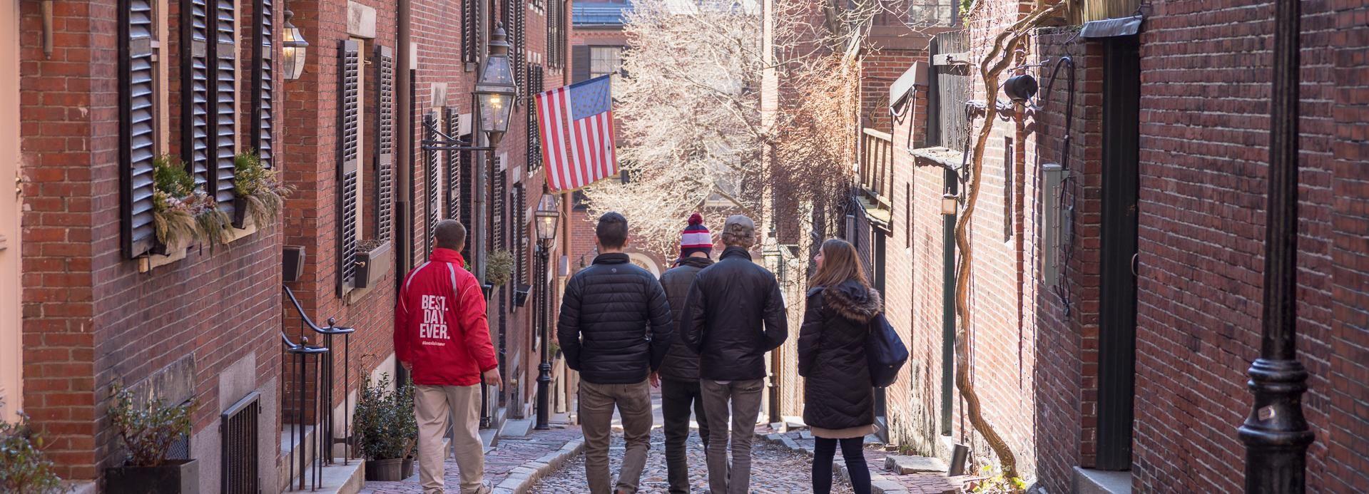 Excursão à tarde e história de Boston