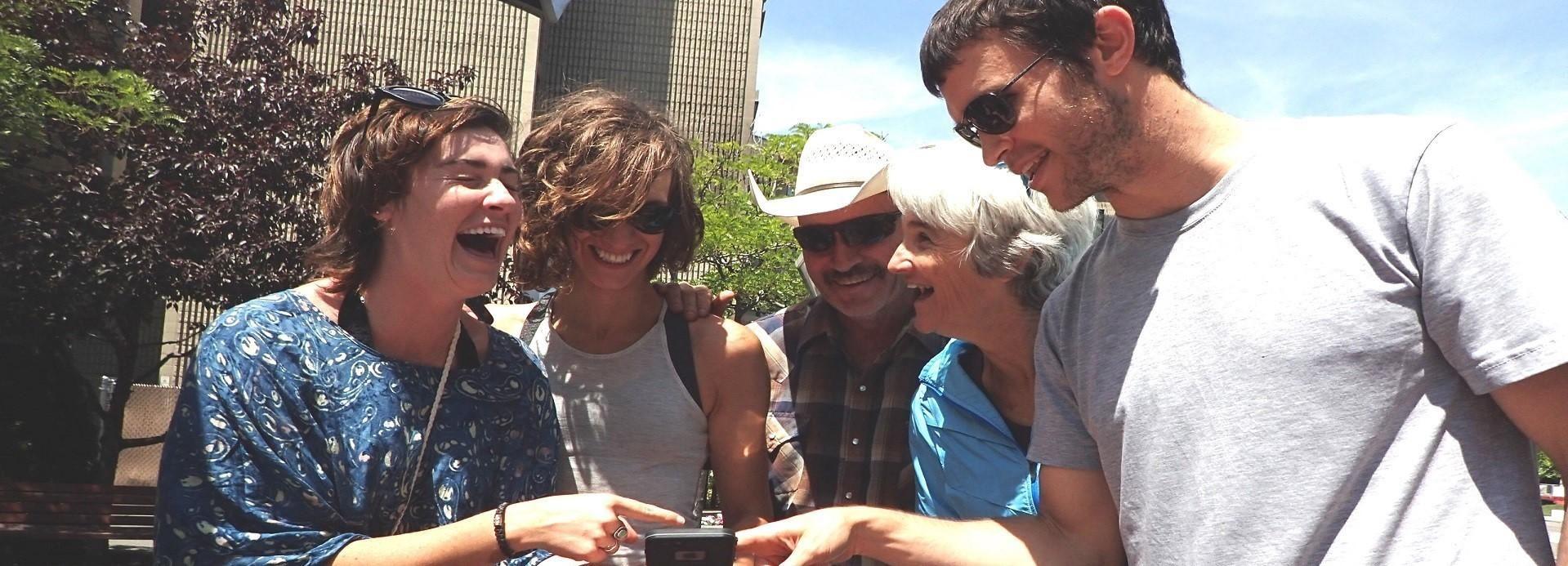 Austin: búsqueda del tesoro por teléfono inteligente