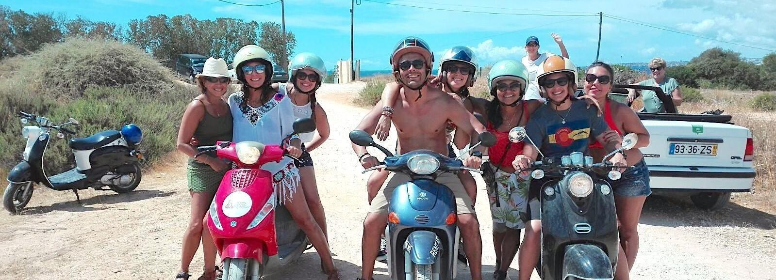 Algarve Cabrio y Scooter Tours