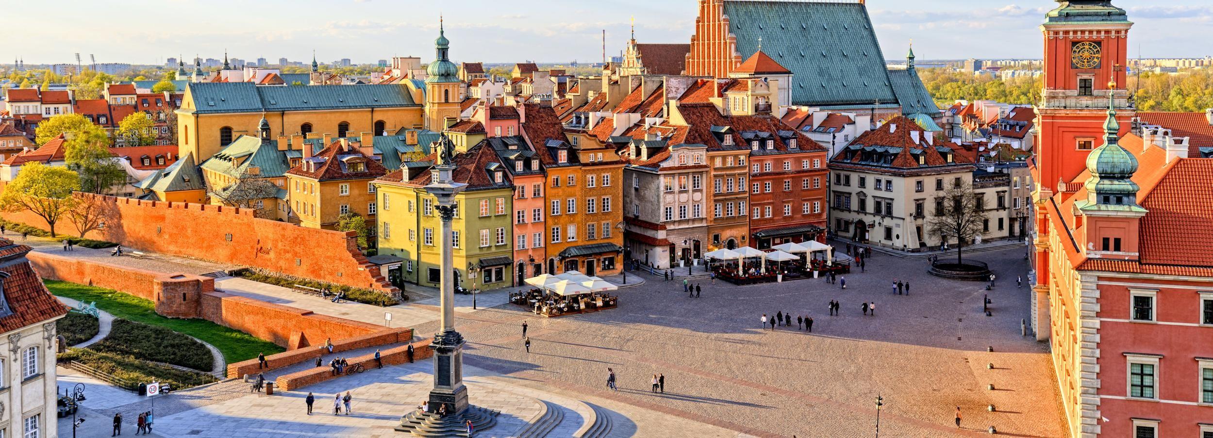 Varsavia: tour pomeridiano della città con prelievo