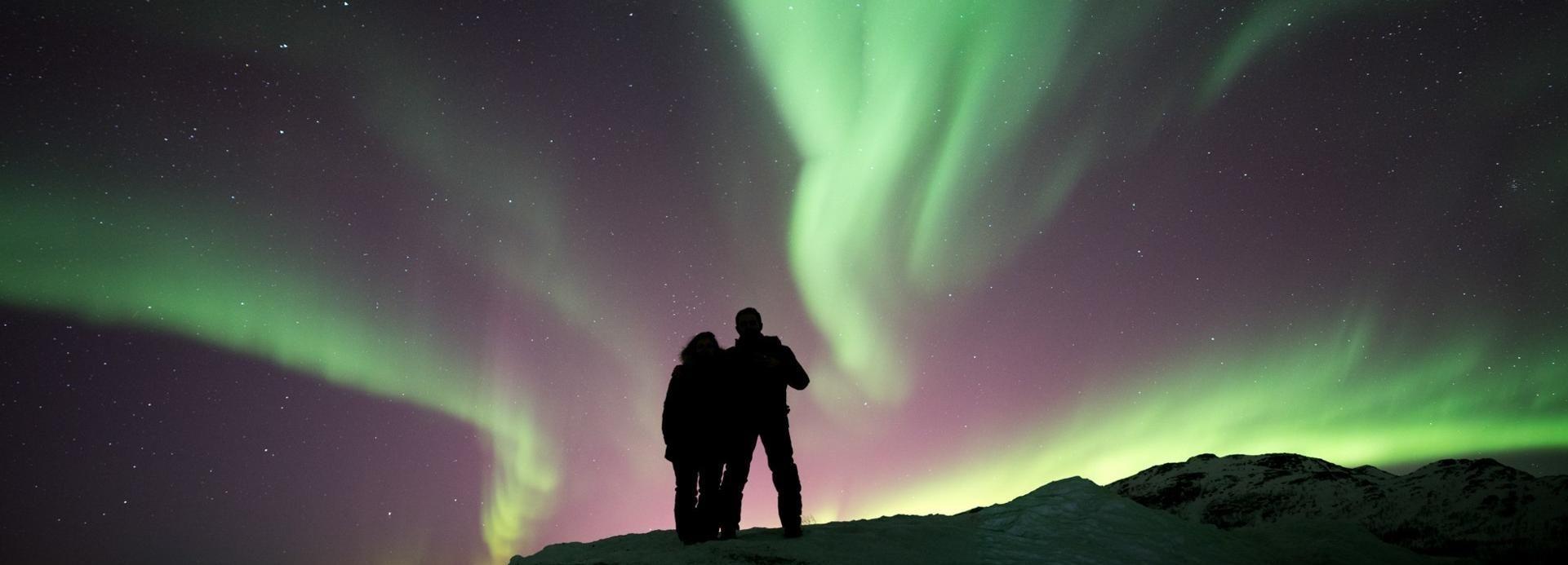 Tromsø: tour naar het noorderlicht