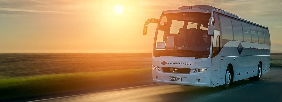 KEF flygplats: Busstransfer till Reykjavik