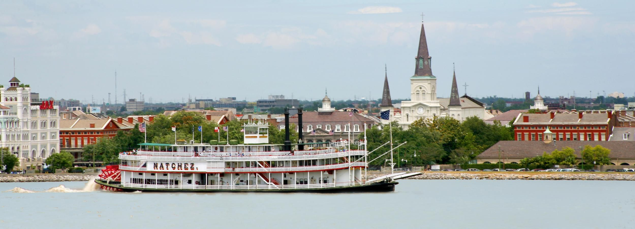 Nueva Orleans: brunch y jazz en un barco de vapor