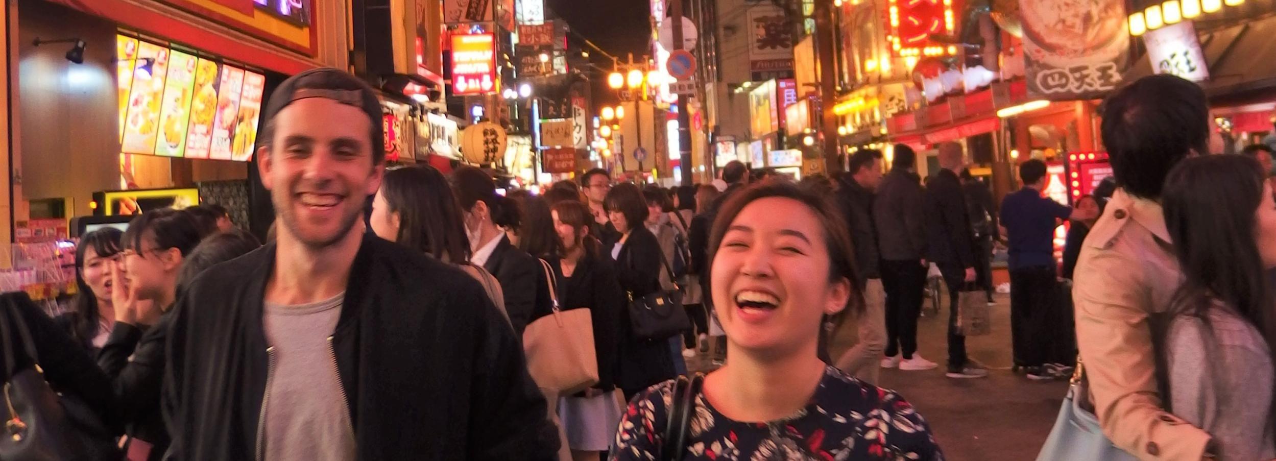Recorrido gastronómico por los bares de Osaka