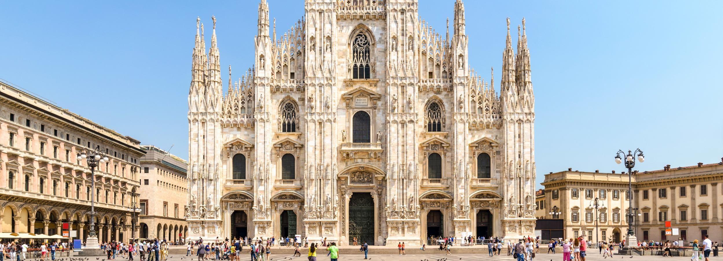 Tour privado a la catedral de Milán y azotea