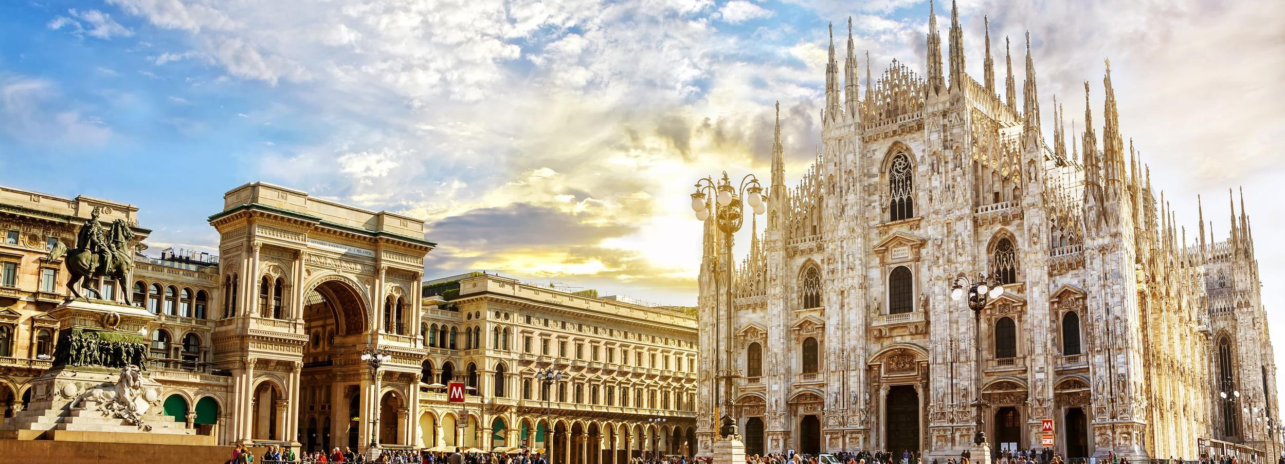Milán: City Tour privado con la Catedral de Milán y terrazas
