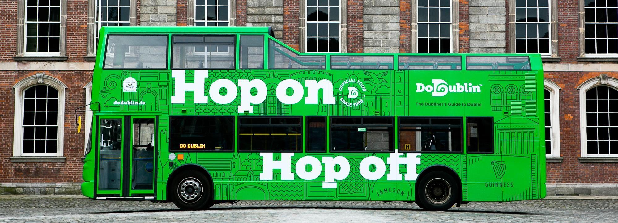Дублин: тур на hop-on hop-off автобусе DoDublin