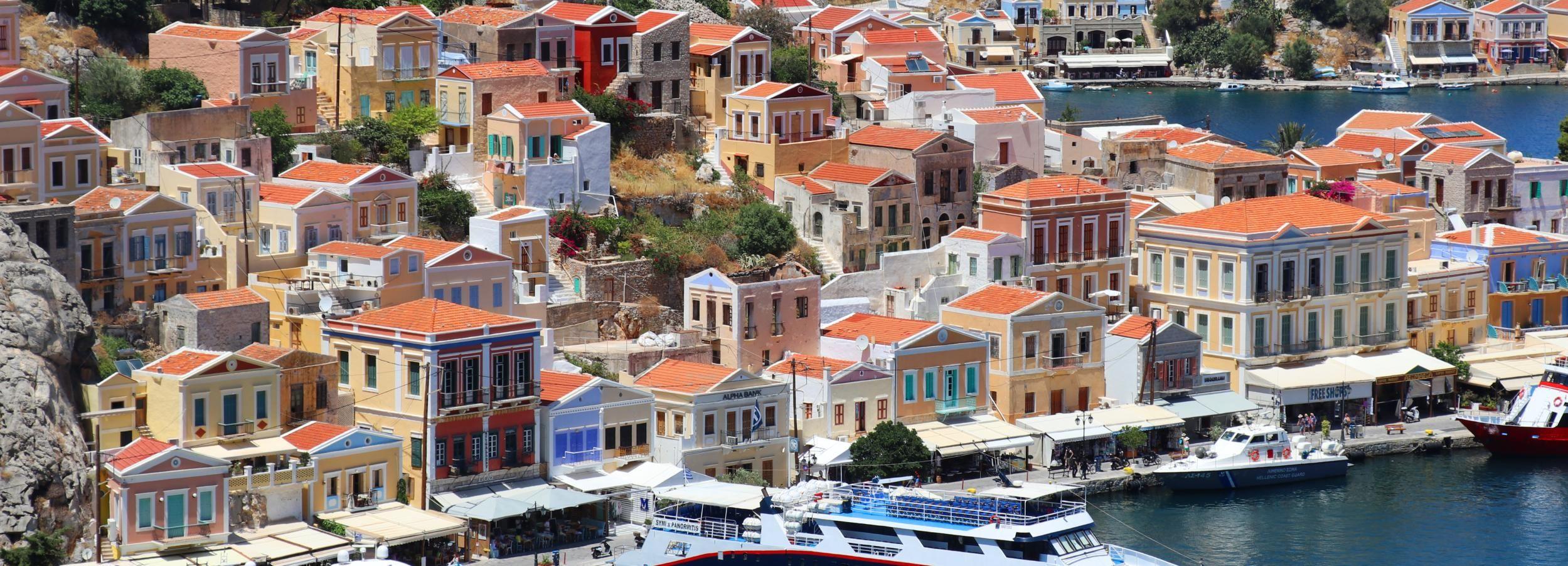 From Rhodes: Symi Island Full Day Trip by Boat