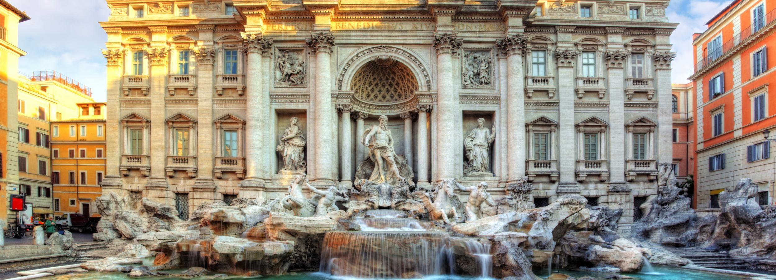 Roma: tour a piedi tra piazze e fontane