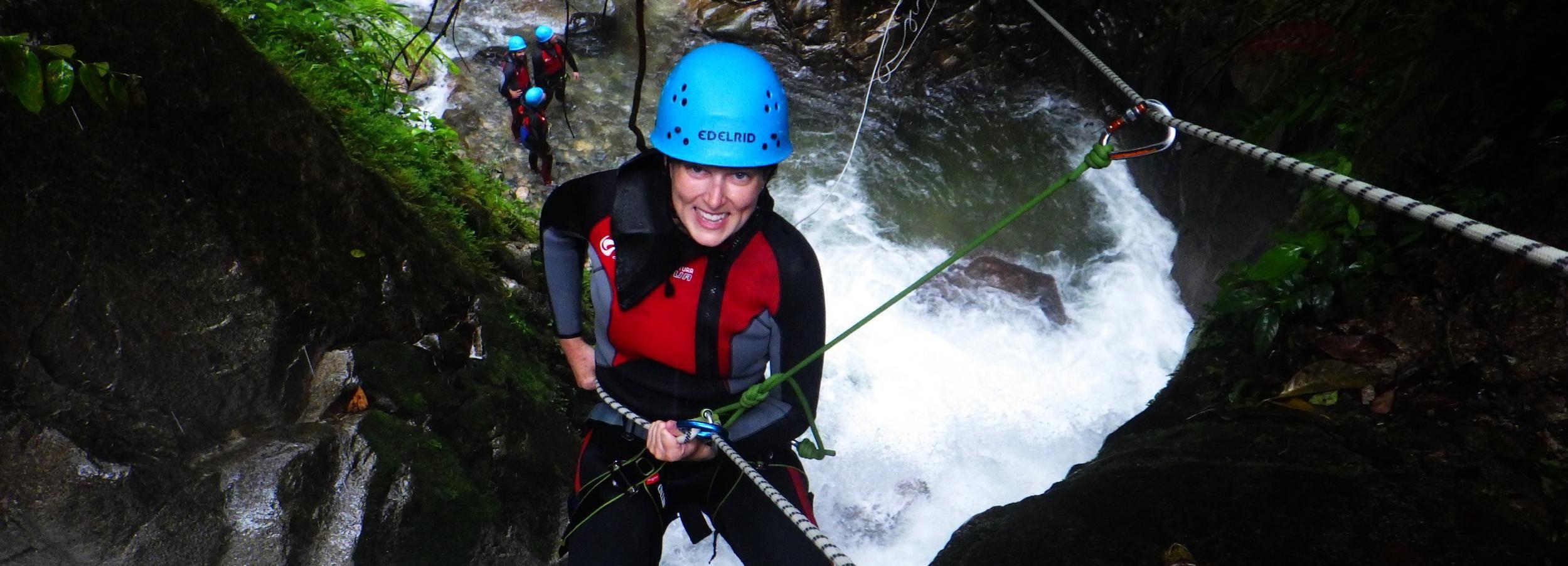 Banos Canyoning Experience