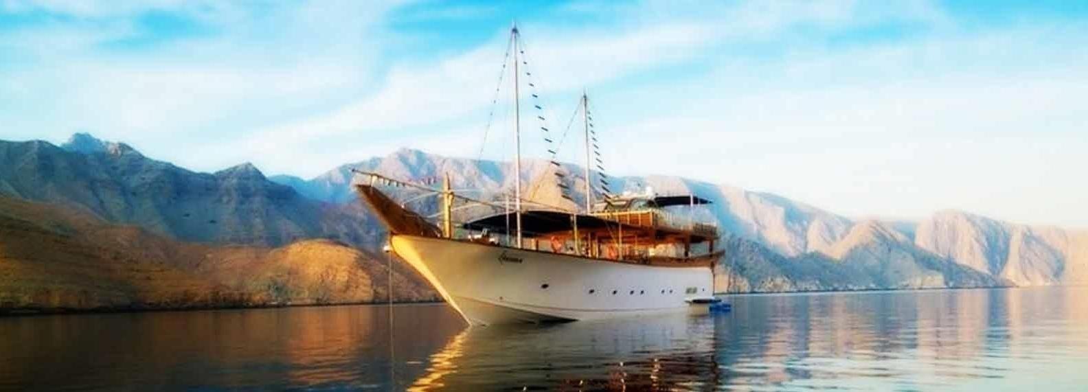 Khasab: Musandam Overnight Dhow Cruise