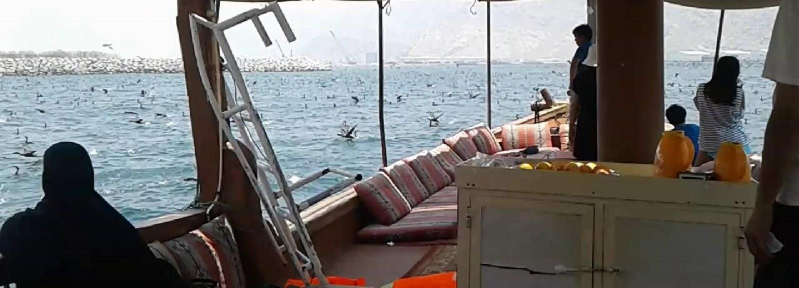Khasab: Outdoor Camping with Dhow Cruise Tour