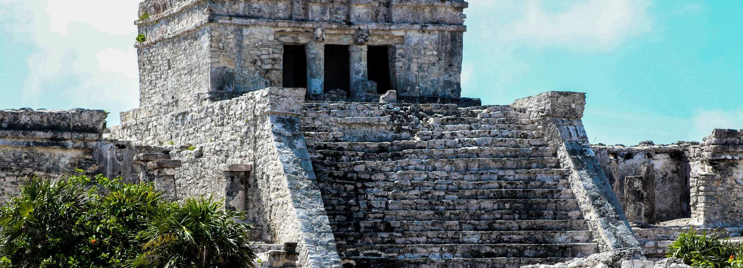 Desde Cancún: tour de Cobá, cenote, Tulum y Playa del Carmen