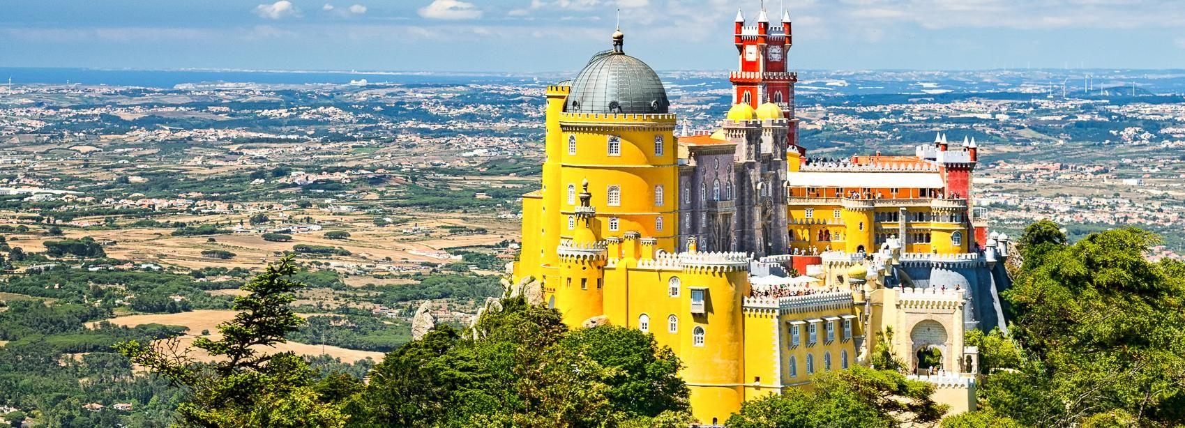 De Lisbonne: Sintra et Cascais en vélo électrique