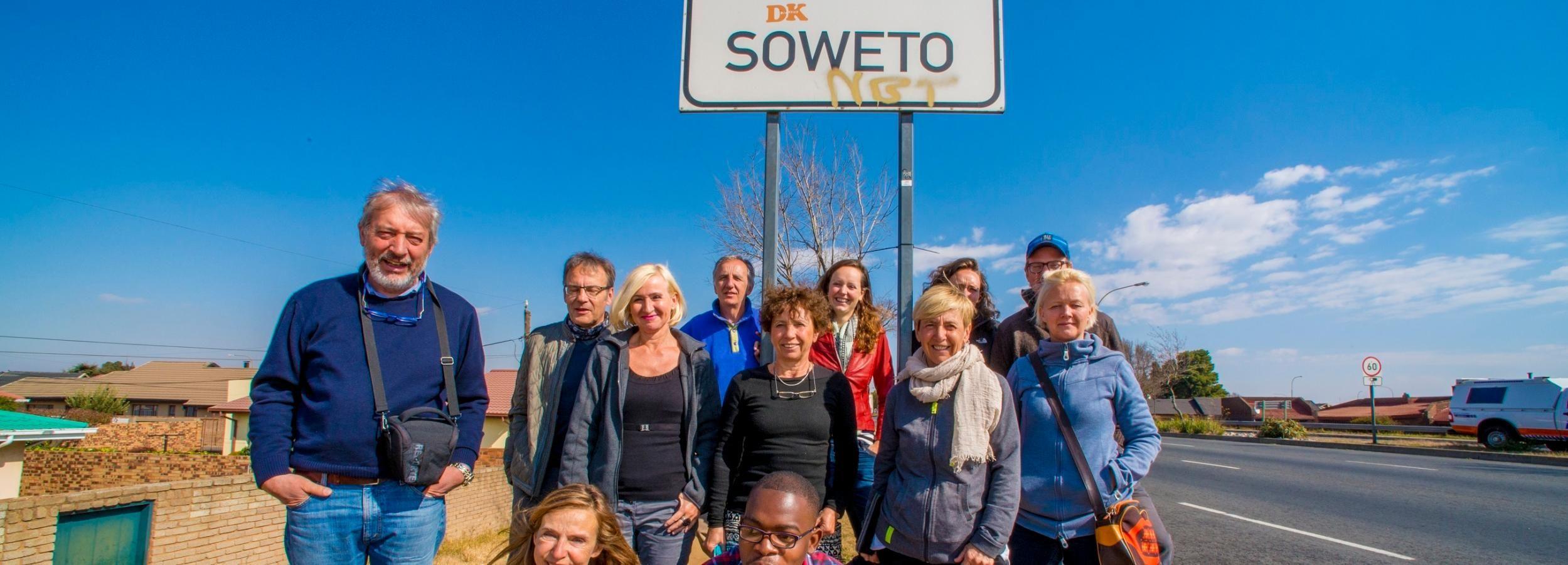 Johannesburg: visite de l'apartheid et du canton de Soweto avec déjeuner
