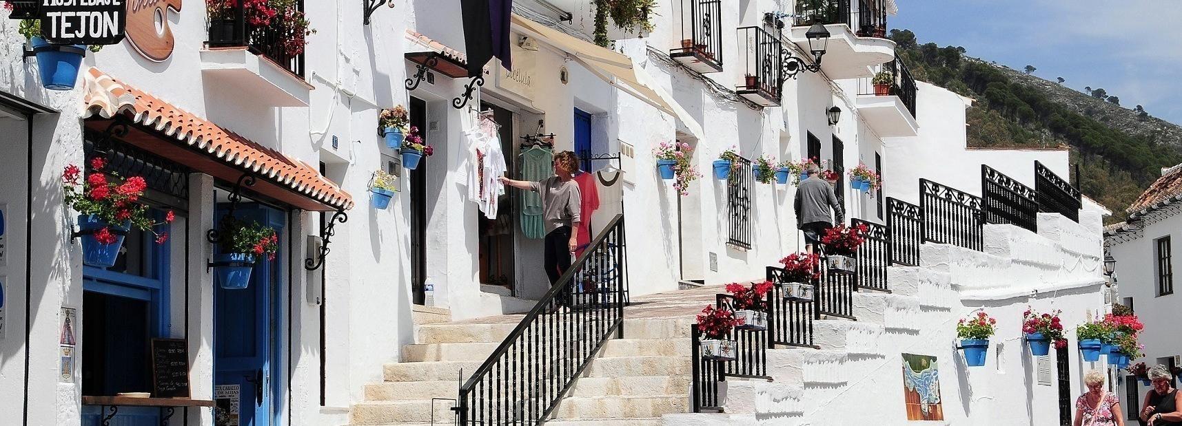 Depuis Málaga: Mijas, Marbella et Puerto Banús