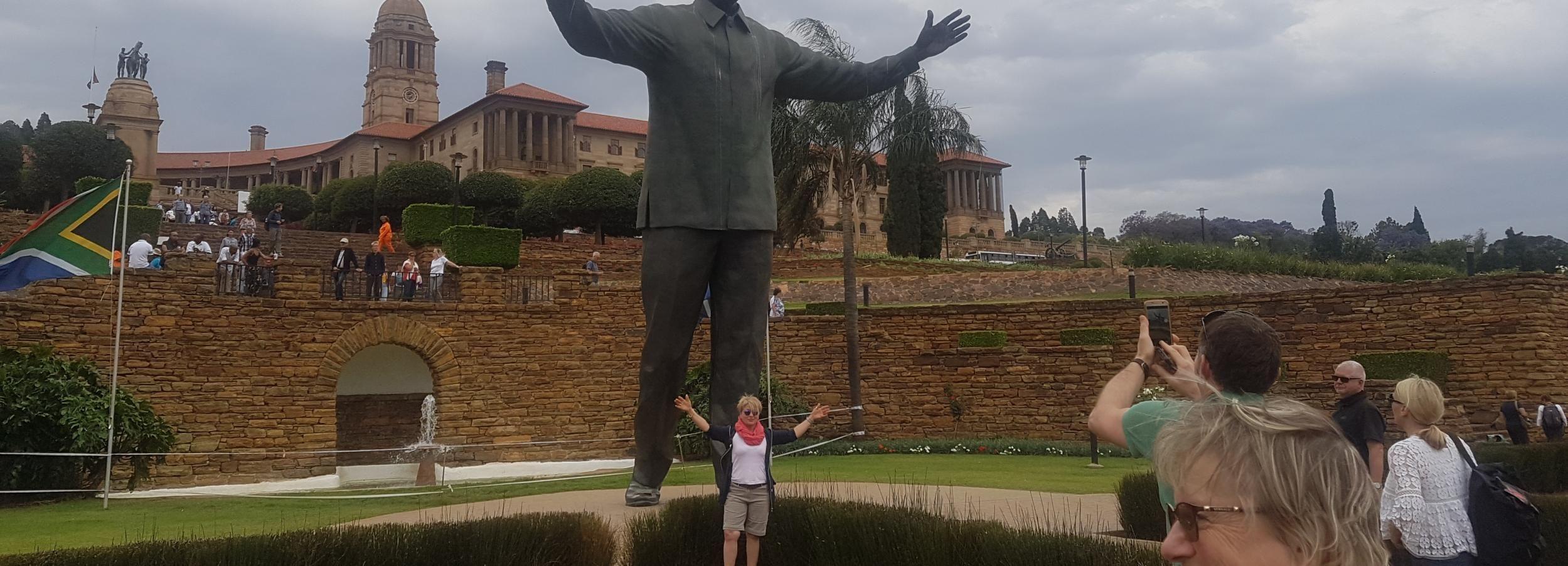 From Johannesburg: Pretoria Half Day Tour