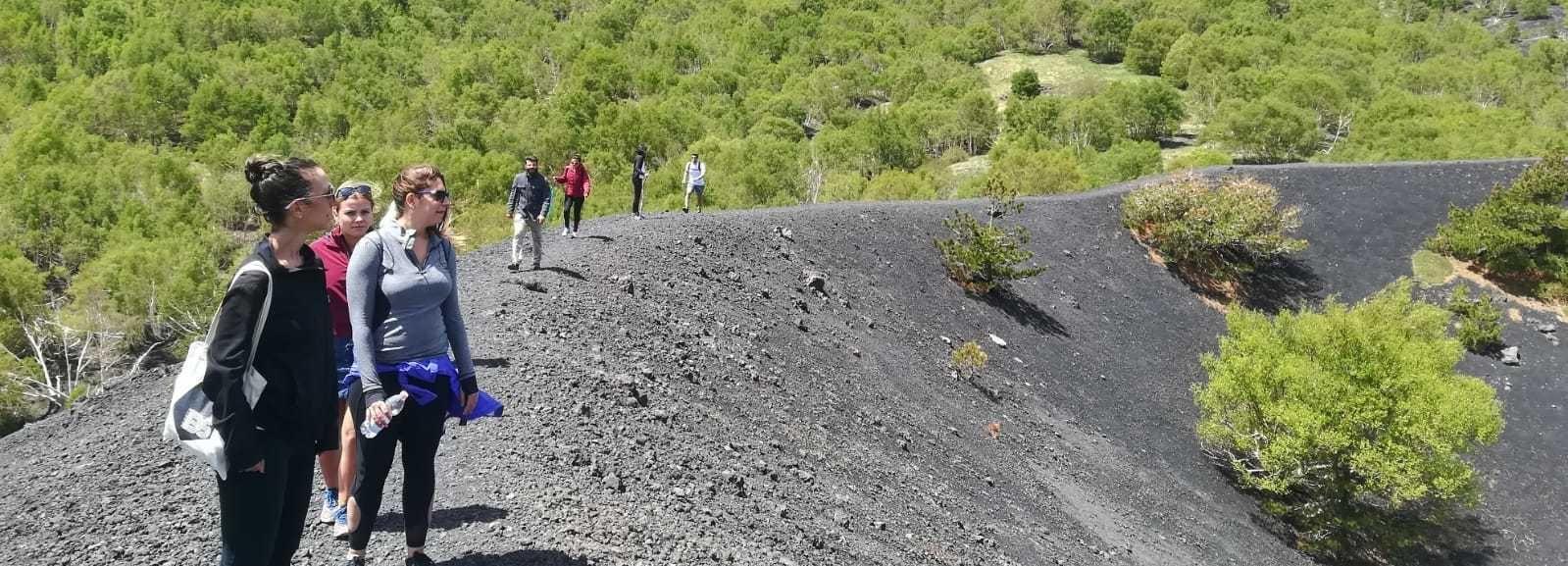 Monte Etna: excursión de medio día desde Taormina