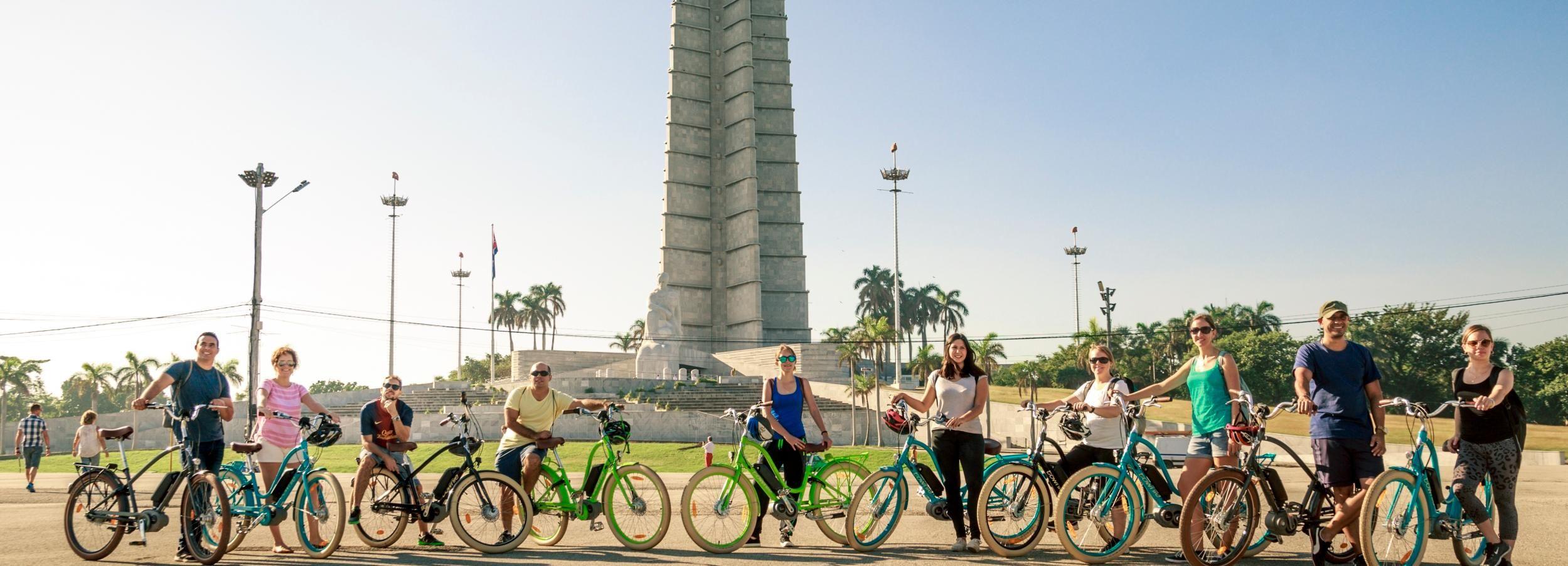 La Havane: visite à vélo électrique