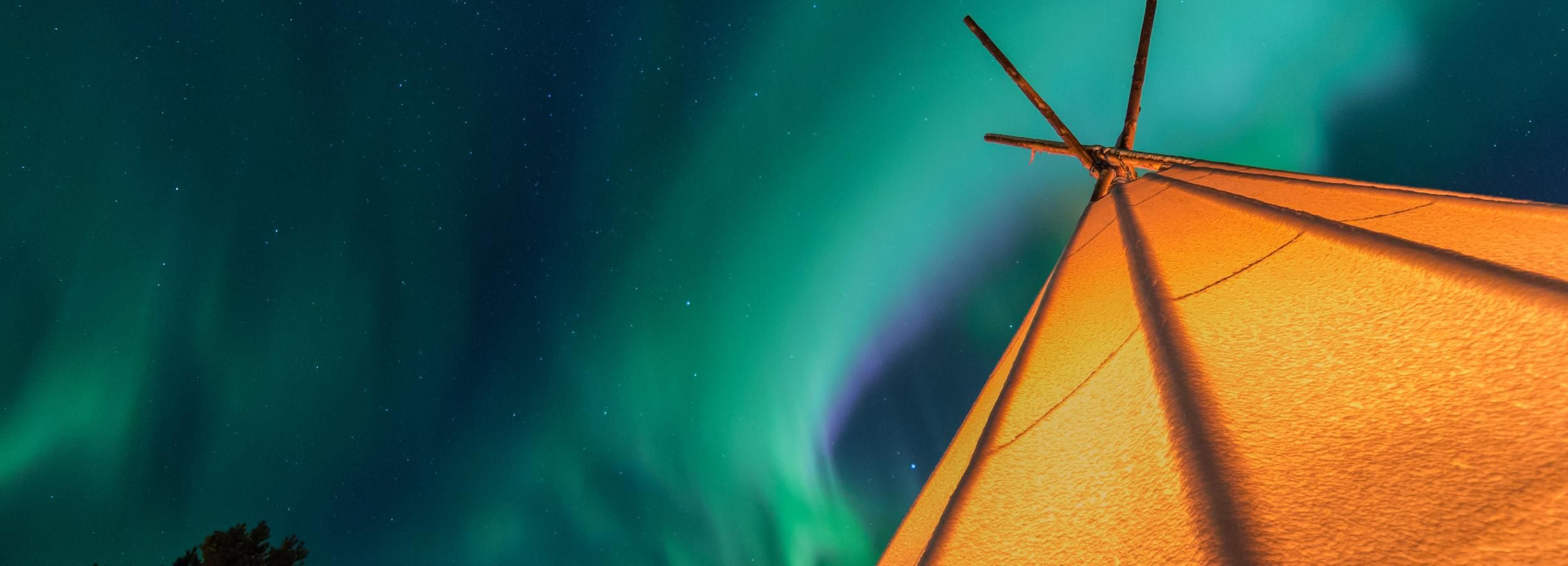 Vanuit Tromsø: Noorderlicht ervaring met Aurora Camps