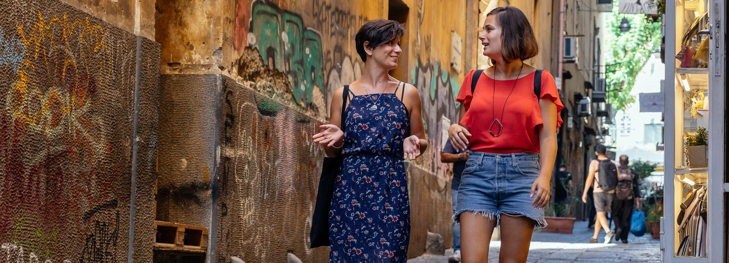 Неаполь-стрит Искусство, культура и легенды Частная прогулка