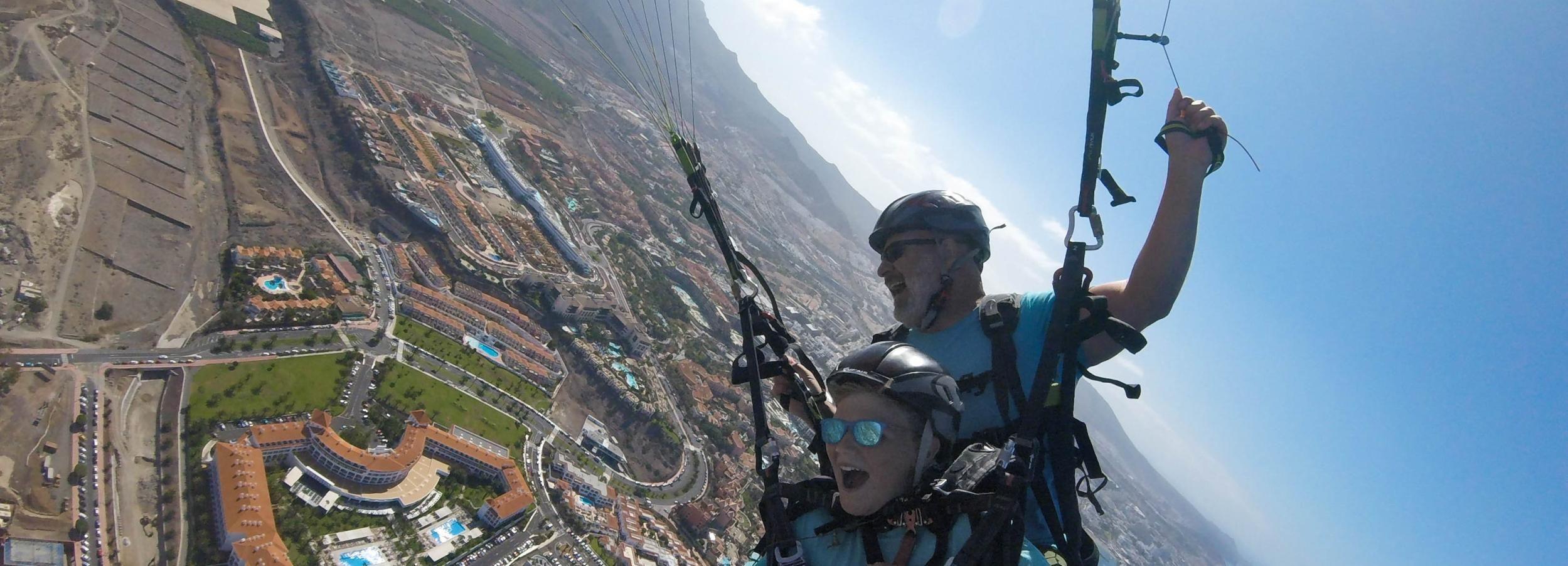 Barranco del Infierno: Paragliding-Erlebnis