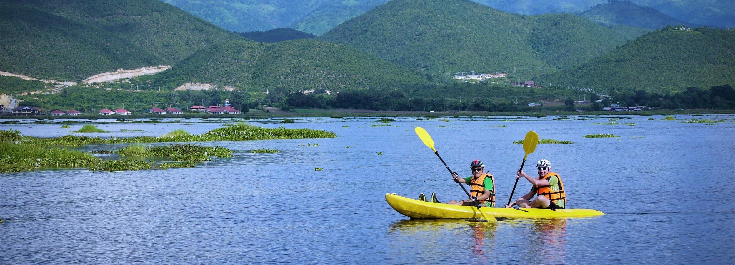Bike, Boat & Kayak Tour