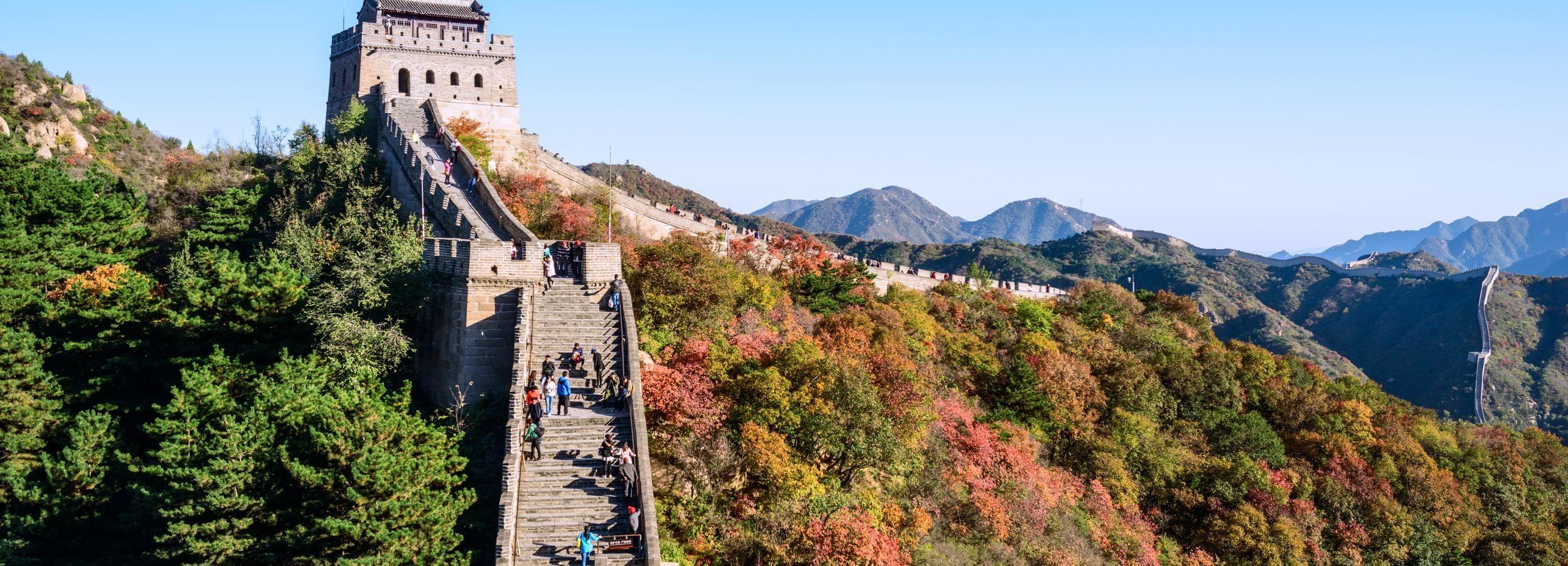 Tour di Badaling Great Wall e Ming Tombs da Pechino