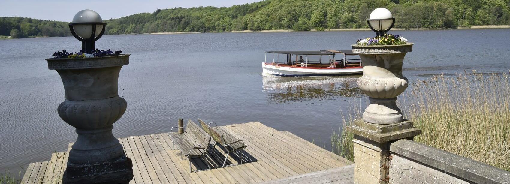 Lago Bagsværd: Baadfarten Boat Ride