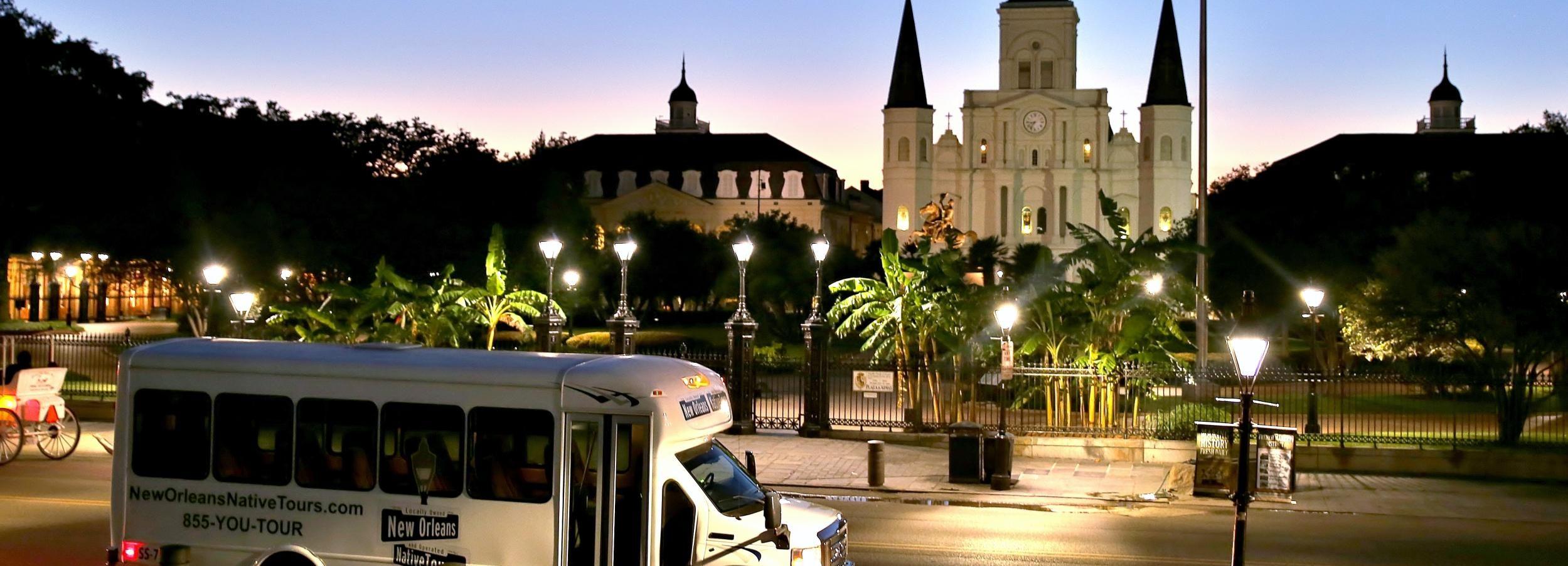 Nueva Orleans: tour en autobús Dead of Night Ghosts and Haunts