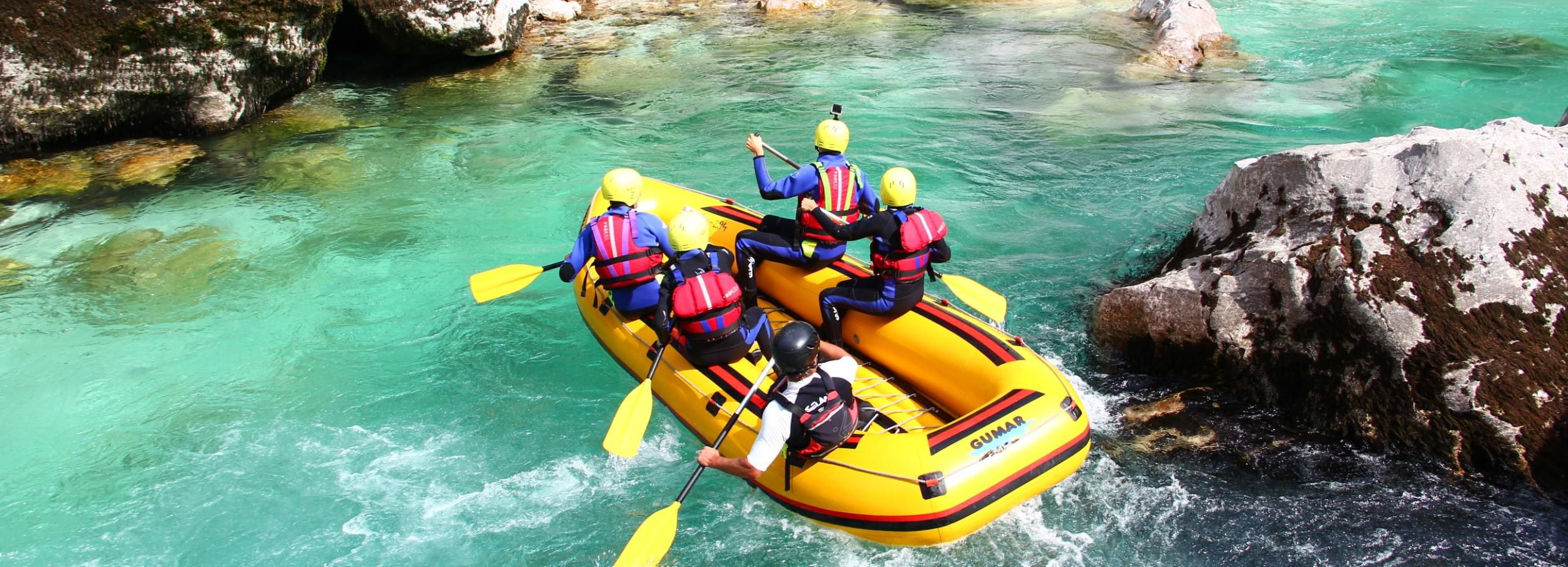 Bovec: Full Day Rafting With A Picnic On Soča River