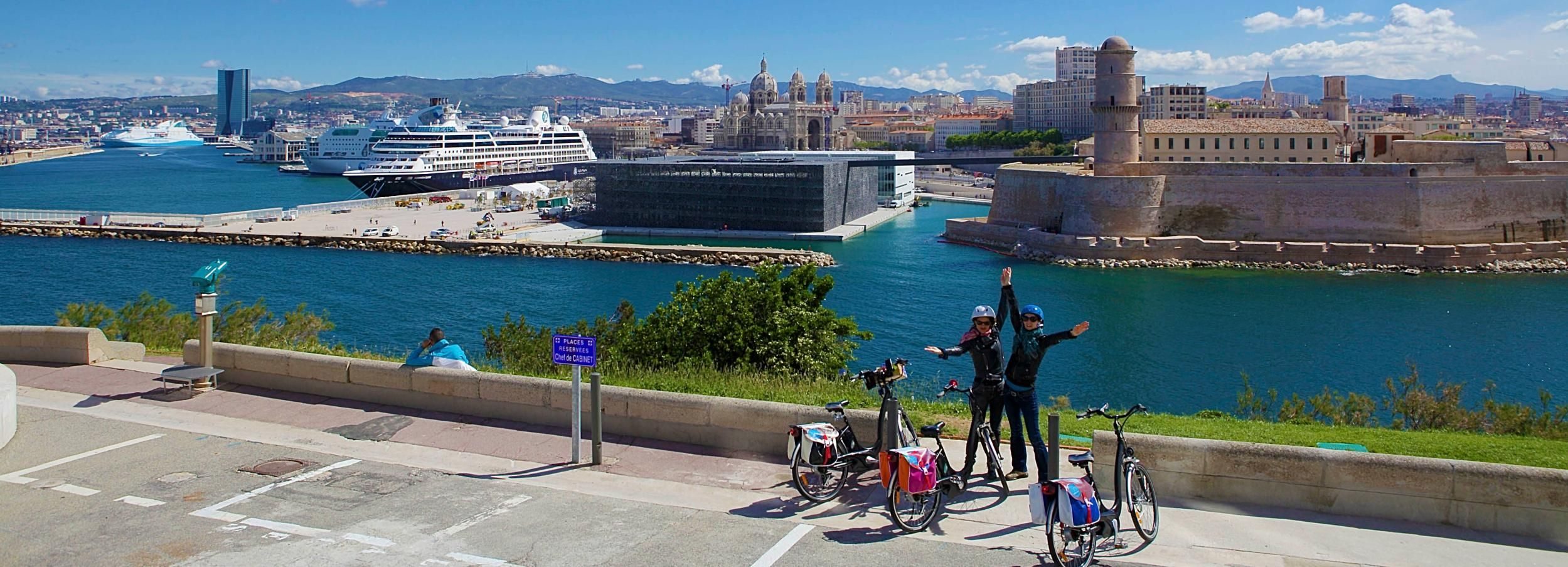 Marseille Shore Excursion: Half-Day Gadjo E-Bike Tour