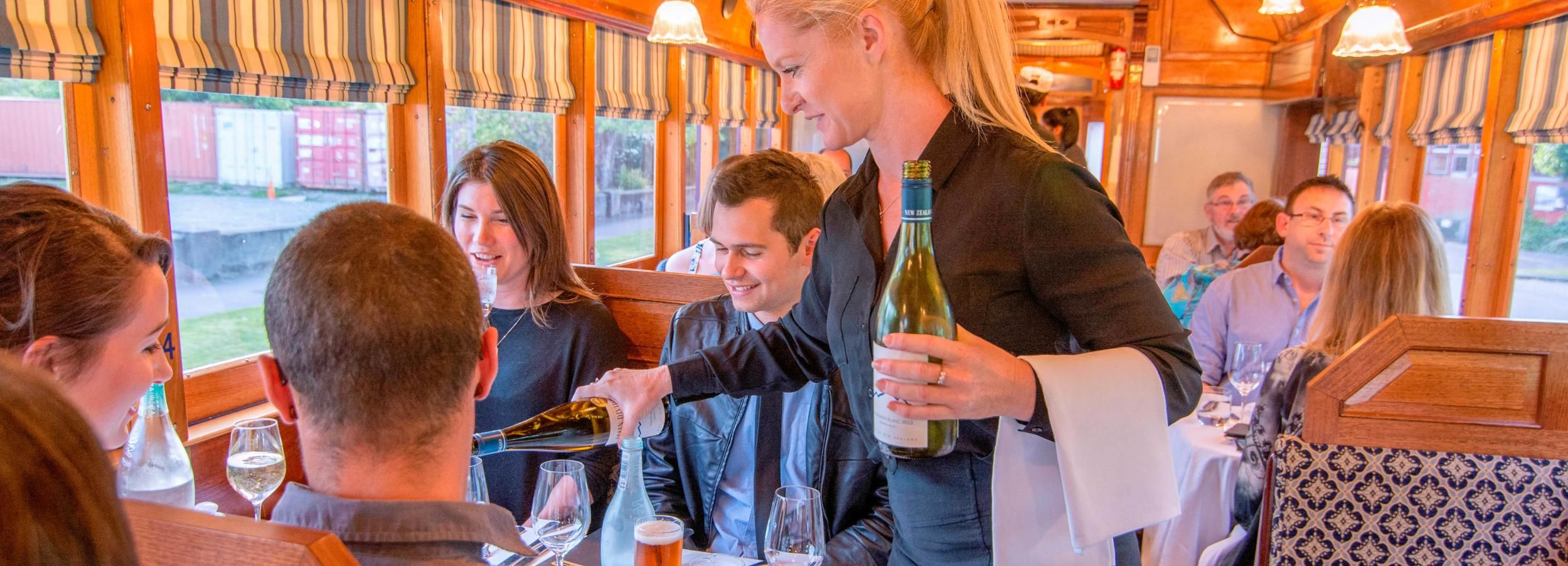 Christchurch Tramway Restaurant 4 Course Dinner Tour