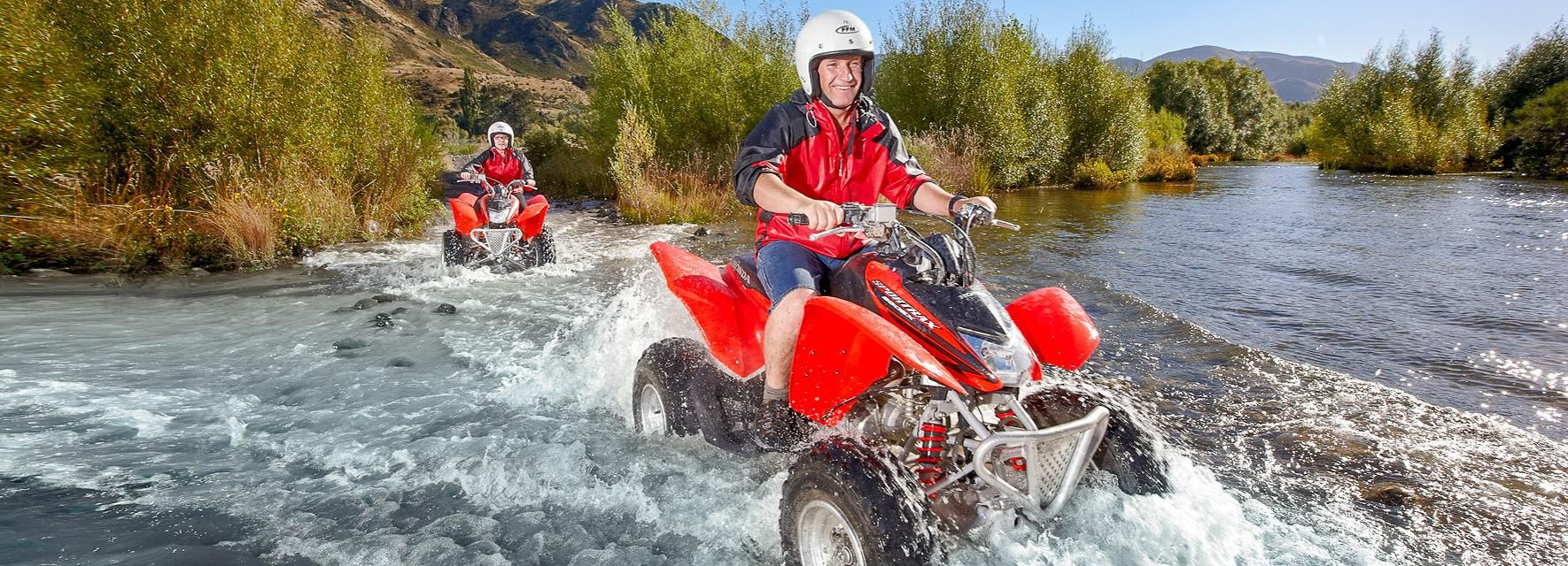 Hanmer Springs 2-Hour Quad Bike Safari