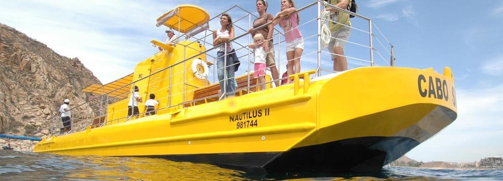 Aventura en submarino en Los Cabos
