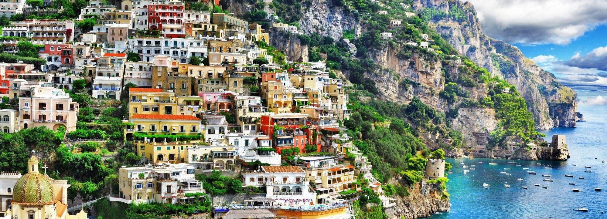 From Rome: Amalfi Coast Private Day Trip by Car