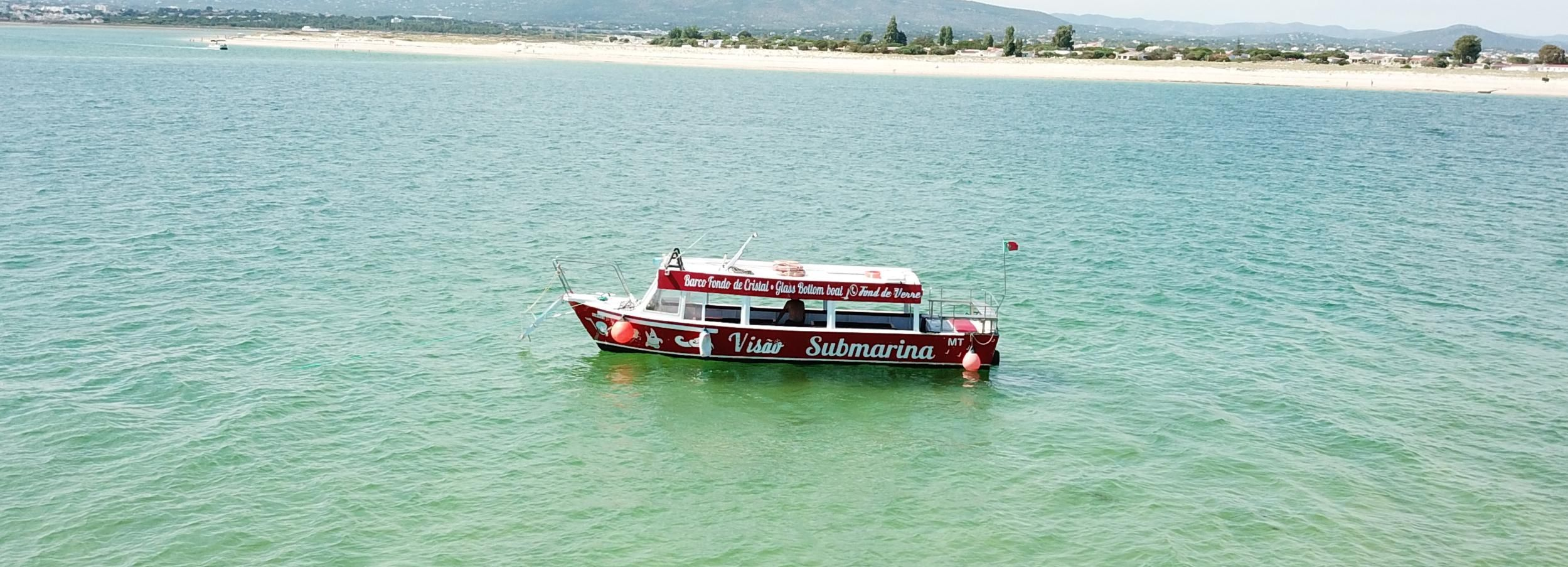 Ria Formosa: Islands Cruise with Lunch at Fisherman's Island