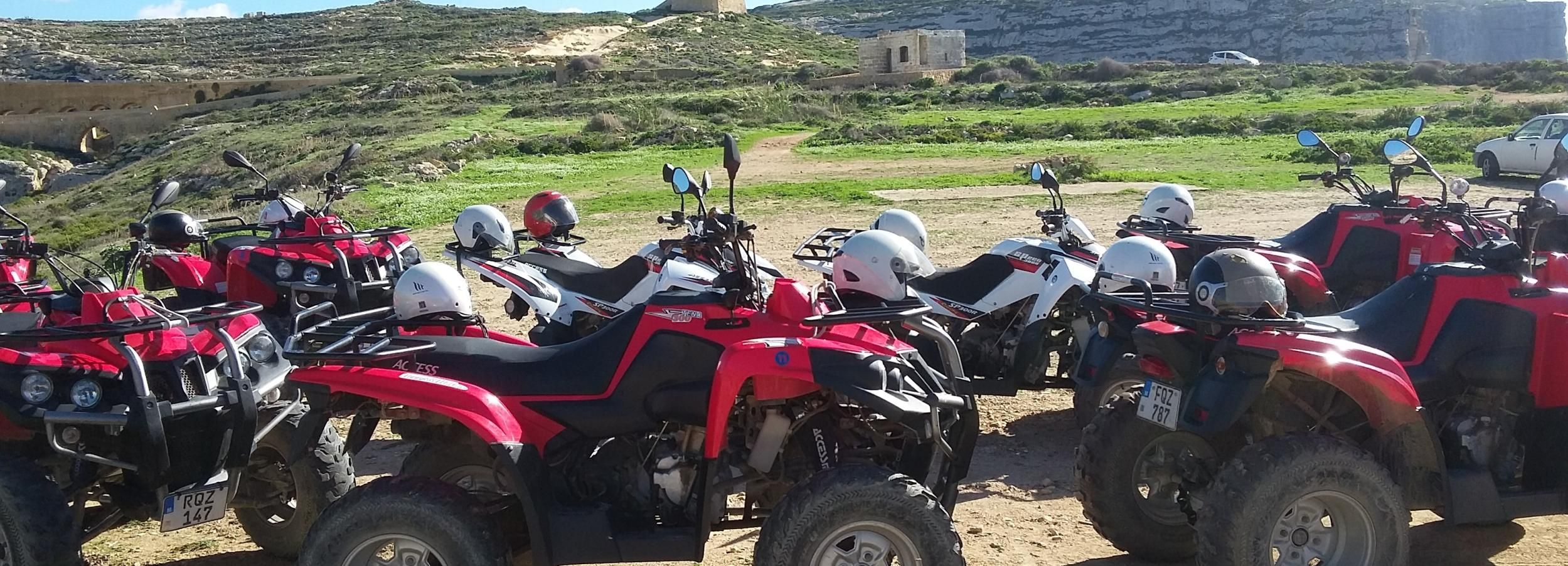 Half Day Quad Tour in Gozo